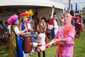 Ha'ikū Ho'olaule'a & Flower Festival. Photo credit: Peter Swanzy