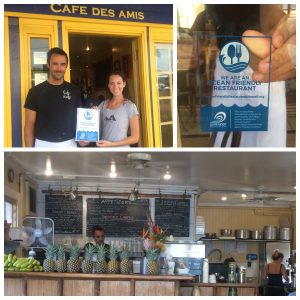 Cafe Des Amis in Pā'ia is certified as Ocean Friendly. Courtesy photo.