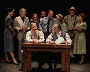 Maui OnStage's Inherit the Wind cast. Copyright 2016 Jack Grace Photography