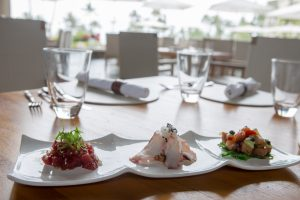 New Poke Flights launched at Cane & Canoe in Kapalua. Courtesy photo.