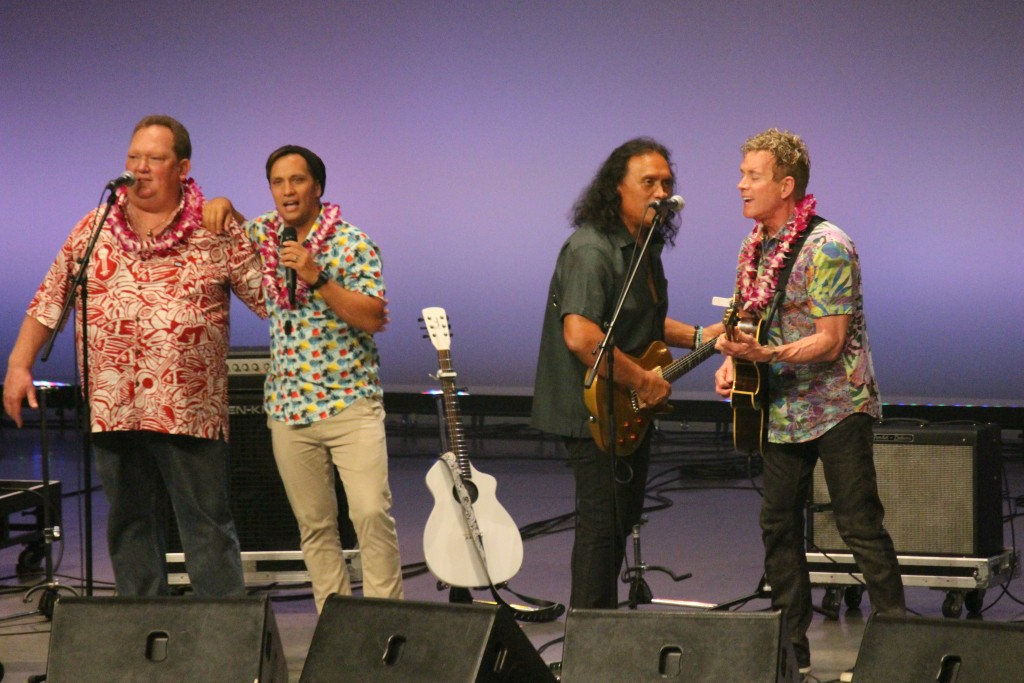 The final ballot announcement was made on Sunday April 10 in Japan at the Nā Hōkū Hanohano Awards/2016 Nomination & Music Festival at the Maihama Amphitheater. Photo credit: Nā Hōkū Hanohano/Hawaiʻi Academy of Recording Arts.