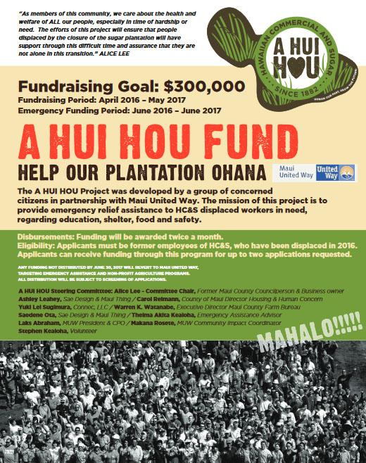 A Hui Hou Fund.