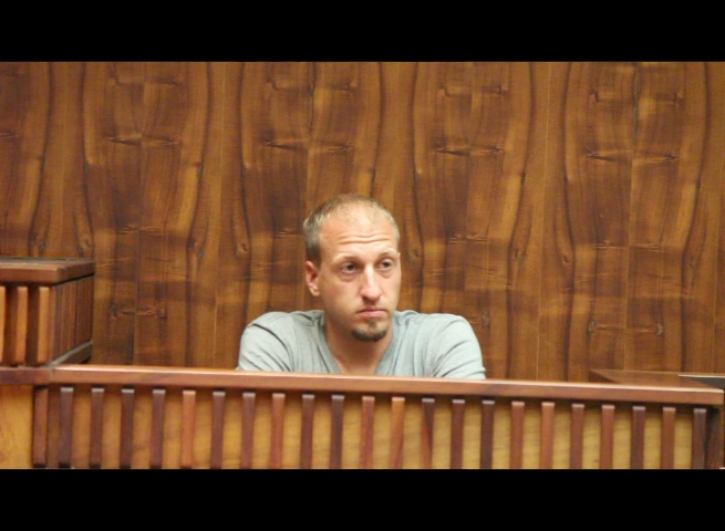 David Ryan (boyfriend of Kehau Farias Schmidt) was among four witnesses called by the prosecution to testify on Monday. Photo (4.25.16) by Wendy Osher.