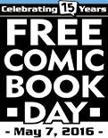 Free Comic Book Day logo source: