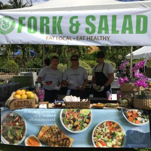 Fork & Salad debuts at Maui County Agricultural Festival on April 2. Courtesy photo.