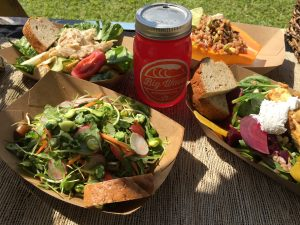 Offerings unveiled from Fork & Salad at Ag Fest. Courtesy photo.