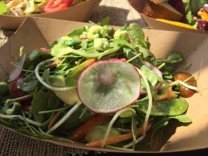 Fresh salad from Fork & Salad. Courtesy photo.