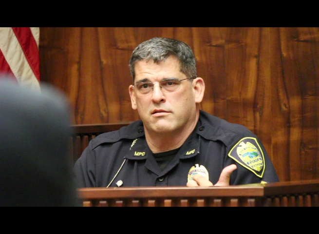 Maui Police Sergeant Alan Brown was among three individuals who testified for the prosecution on Wednesday.