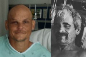 Stabbing victims: James Reeves (left) and Scott Stolsig (right). Courtesy photos via respective (GoFundMe accounts).