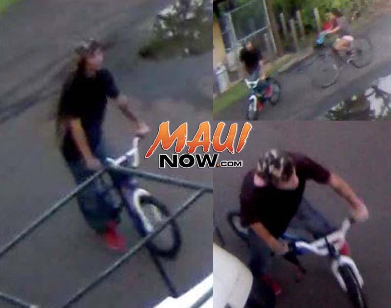 Surveillance image montage. Photos credit: Maui police.