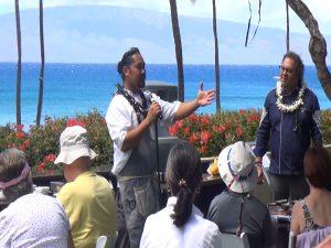 Japengo Chef Gevin Utrillo speaks of his respect for Vij during the Hyatt cooking demo. Photo by Kiaora Bohlool.