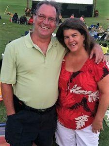 huck & Lisa Burke, owners of Island Window Coverings. Courtesy photo