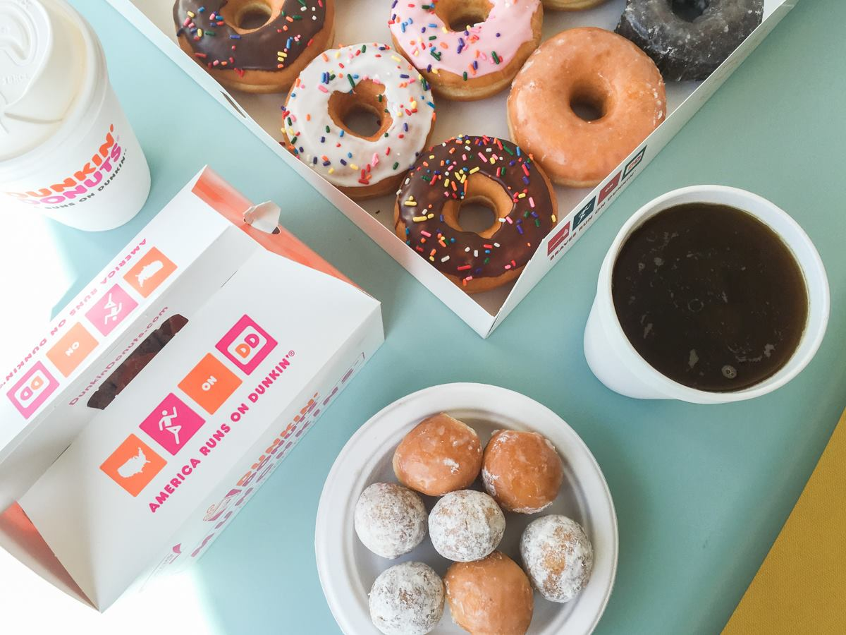 Dunkin' Donuts. Photo courtesy Dunkin' Donuts Facebook.