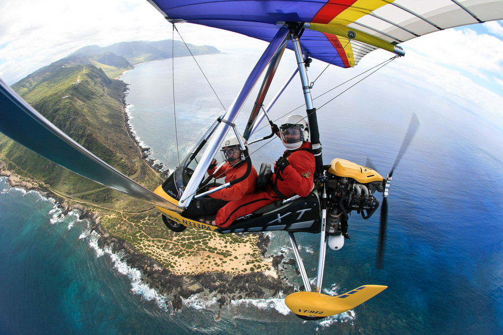 Hang Gliding in Maui