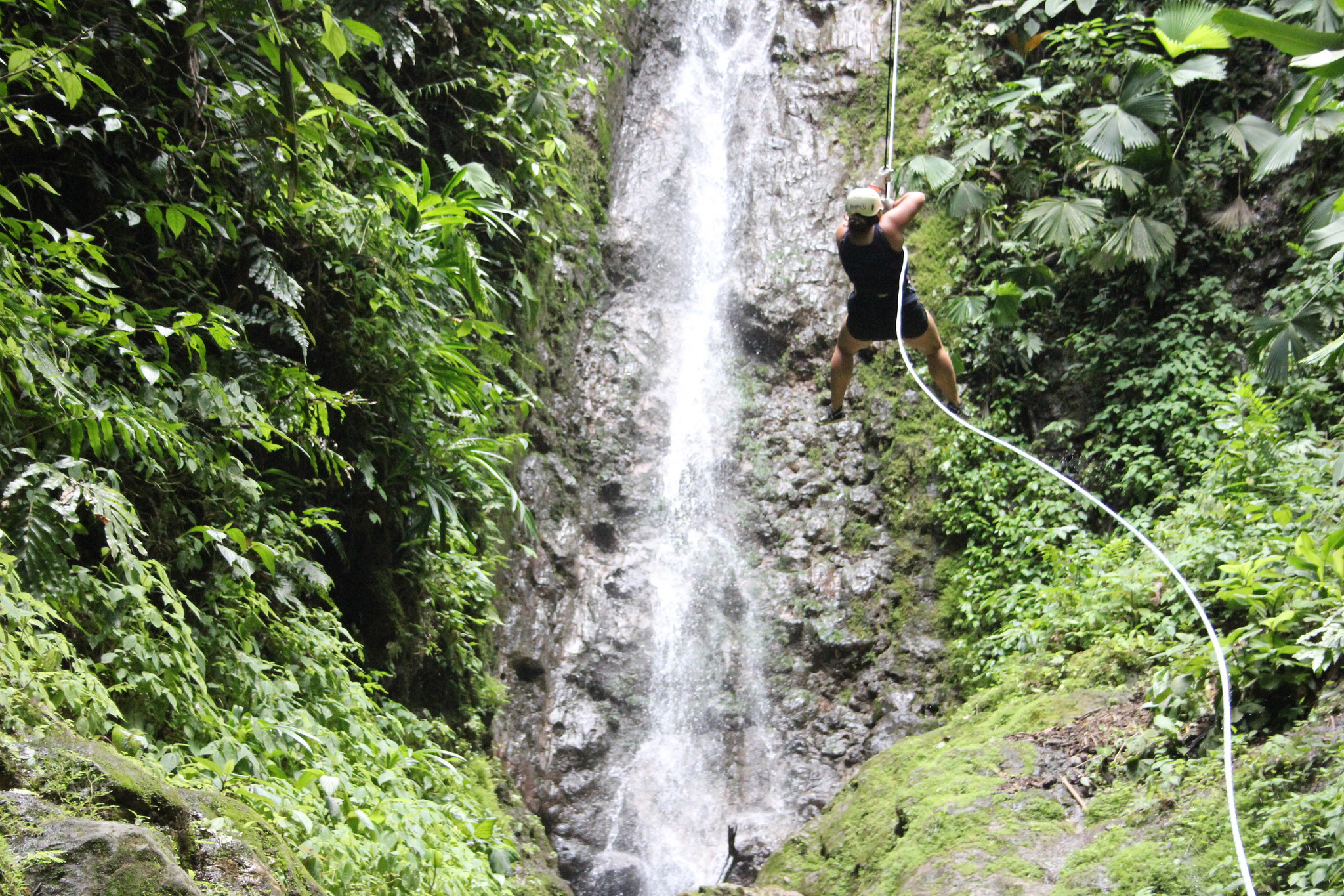 Rappel Down Waterfalls