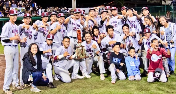 Baldwin High School the 2016 Division I State Baseball Champions. Photo by Ben Juan.