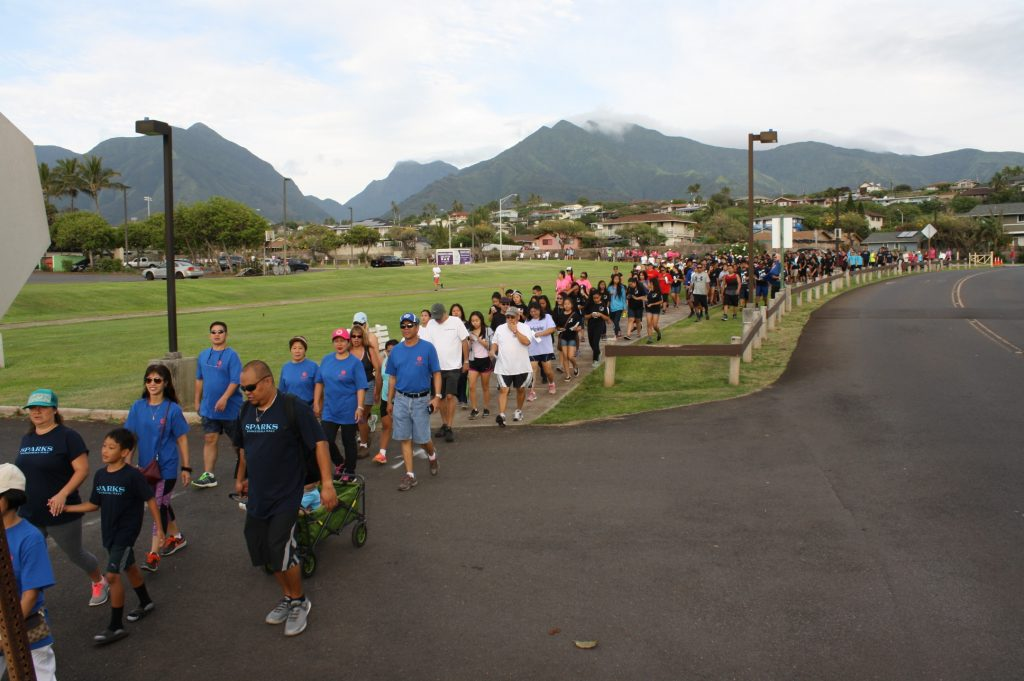 Maui Hotel and Lodging Association Charity Walk 2016. Courtesy photo.