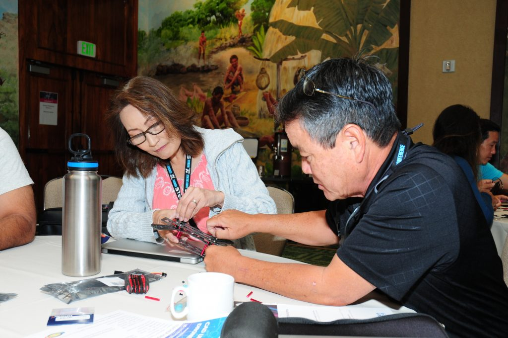 Teacher Professional Development Drone Session that took place at the 7th Annual Hawaii STEM Conference this past May 6 & 7 that previewed the workshop that will take place in June.