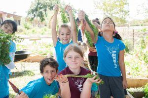 Student farmers and learners from Grow Some Good, which will benefit from the RSVP program. Courtesy photo.