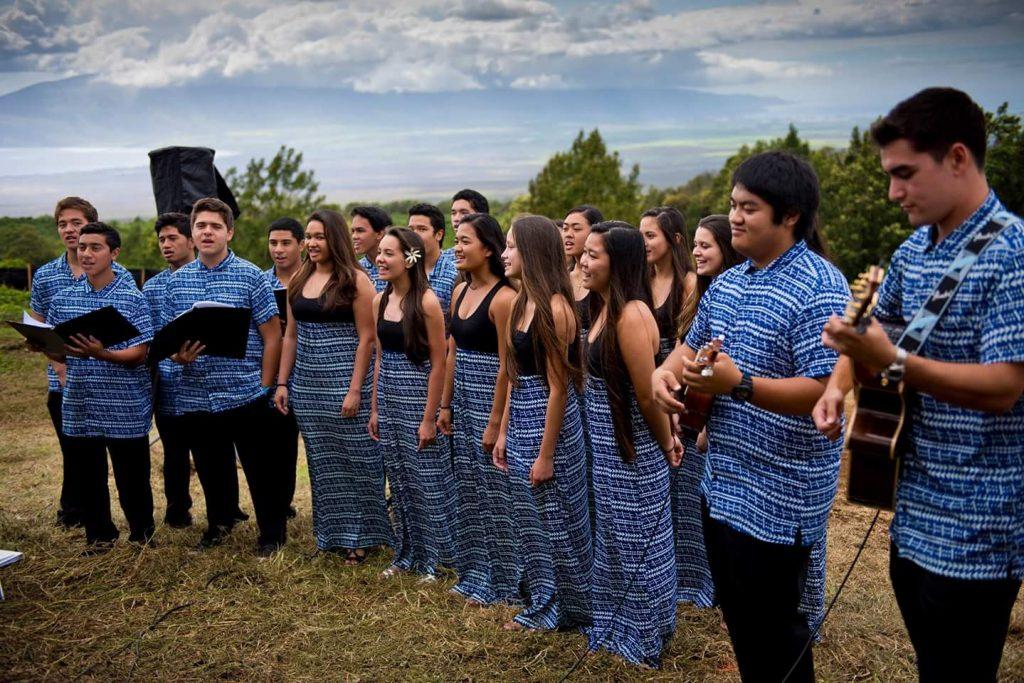 Hawaiian Homestead Community Groundbreaking Ceremony (Keokea-Waiohuli Phase 1) on May 19, 2016. (Photo: Ryan Piros)