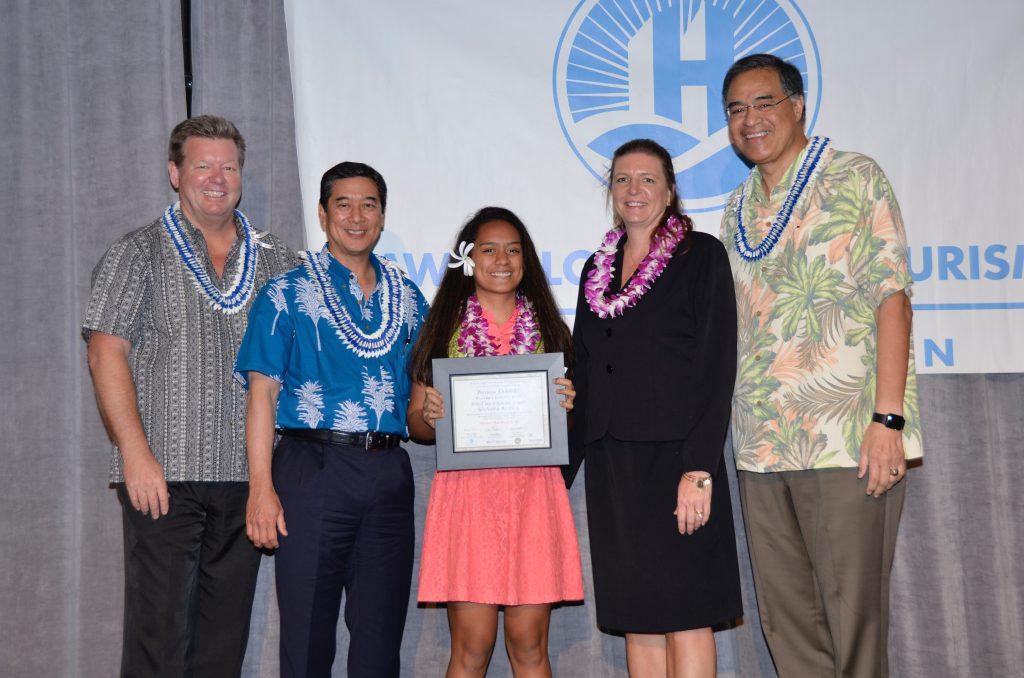 Precious Helekahi of Hāna on Maui. Courtesy photo.