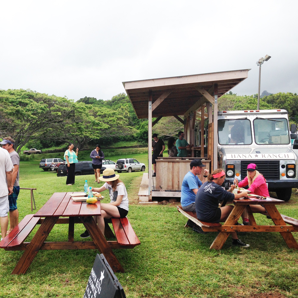 Hana Ranch food truck and farm stand. Courtesy photo.