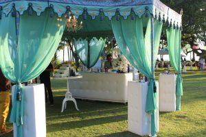 Raj tents. EventAccent photo.