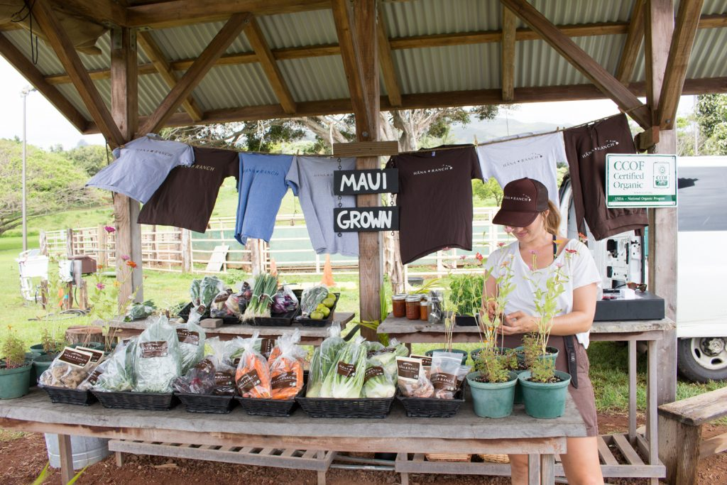 Hana Ranch farm stand. Courtesy photo.