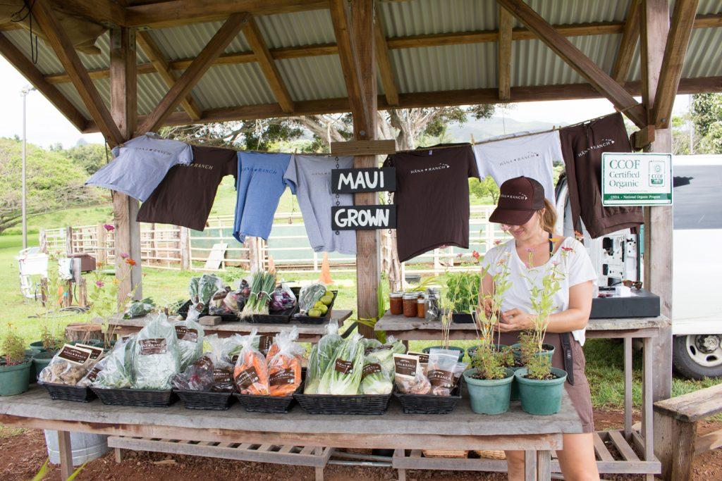 Hana Ranch farm stand. Courtesy photo.