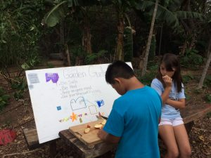 Students in action with Maui School Garden Network. Courtesy photo.