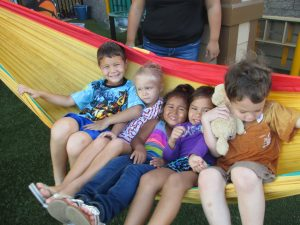 Imua Preschool keiki, who will be helped through the Maui RSVP program. Courtesy photo.