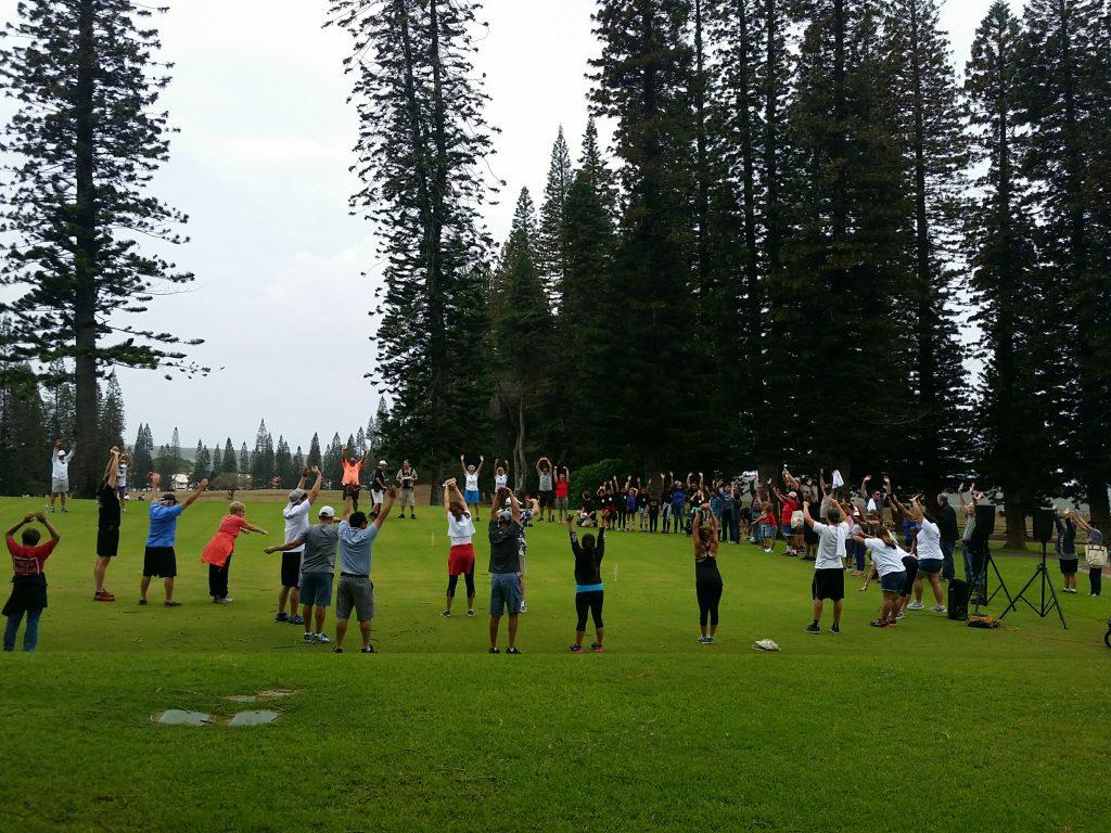 Lanai Charity Walk. Courtesy photo.