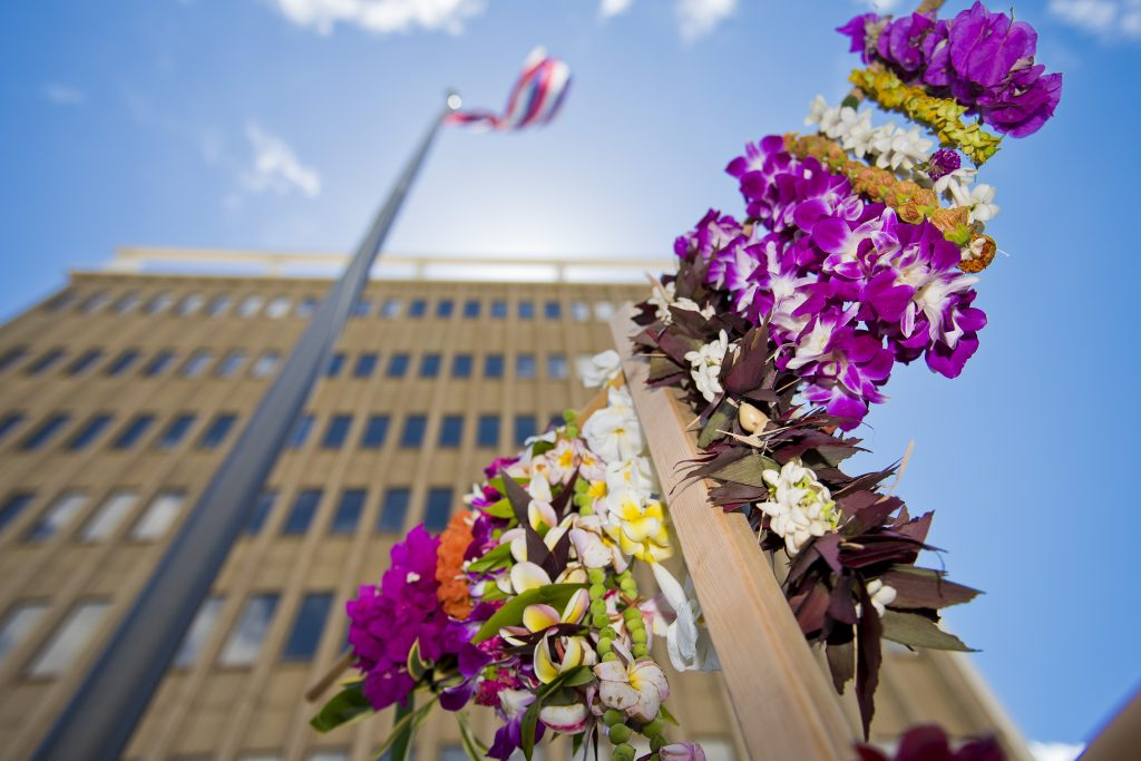 Blossoms for the Brave 2016. Photo credit: Ryan Piros / County of Maui.