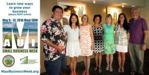 Maui SBW voluntary organizers invite you to attend the 2016 Maui SBW FREE events (left to right):David 'Kahu' Kapaku, Grace Fung, Lori Fisher, Kauionalani Waller, Trisha Anderson, Nicole Fisher and John Hau'oli Tomoso.