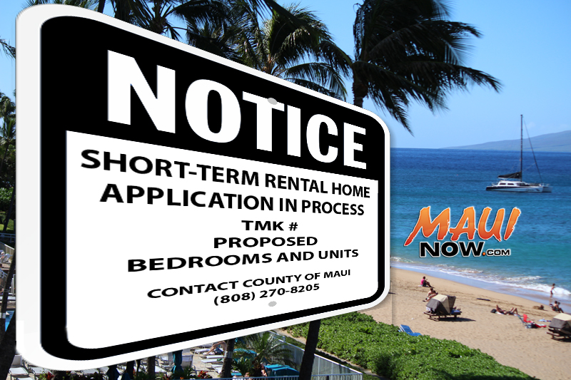 Meeting in Pāʻia on Short-Term Rental Home Limits