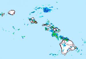 Image: NWS Radar at 4:45 p.m.
