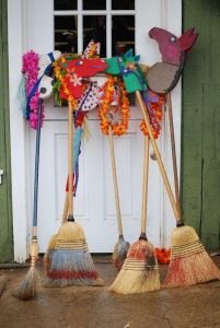Stick Horse's for Race: Makawao Parade will open with the traditional Stick Horse Race. Kids of all ages are welcomed. Future date to be announced for community Stick Horse making. Photo credit: Blair Mertens