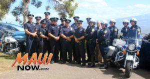 Distracted Driver campaign. Photo credit: Maui Police Department.