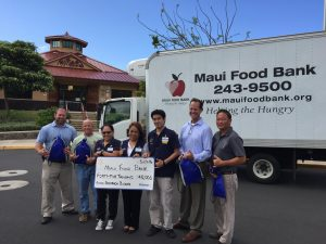 Maui County keiki in need will be receiving 54,000 meals during the upcoming 2016-17 school year thanks to a grant to the Maui Food Bank from the Walmart Foundation. Courtesy photo.