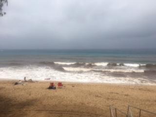 Honokahua Bay brown water advisory. Image courtesy State of Hawaiʻi, Department of Health.