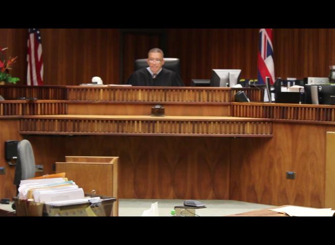 Maui Judge Richard Bissen. (5.10.16) Photo by Wendy Osher.