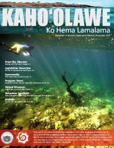 Kahoʻolawe newsletter. Courtesy image credit: KIRC.