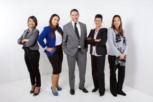 team employees job search job fair