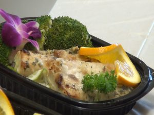 Fish meal plan from Mana Meals. Photo by Kiaora Bohlool.
