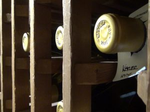 Fine wines in the cellar at Lāhainā Grill. Photo by Kiaora Bohlool.