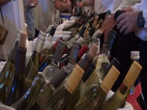 The bottles kept pouring at Kapalua Wine & Food Festival. Photo by Kiaora Bohlool.