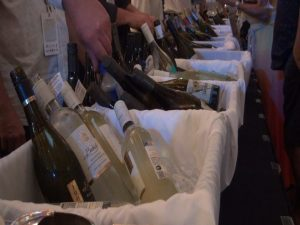 A range of wines at Kapalua Wine & Food Festival. Photo by Kiaora Bohlool.