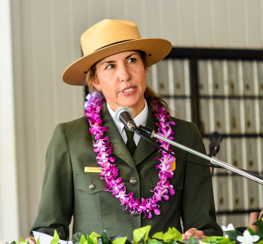 Haleakalā National Park Superintendent Natalie Gates said the stamp will serve as way