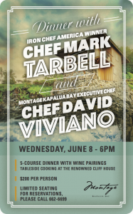 Wine dinner at Cliff House in Kapalua on June 11. Courtesy image.