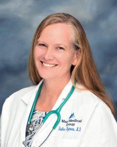 Heather Bejenaru, MD, Family Practice. Maui Medical Group photo.